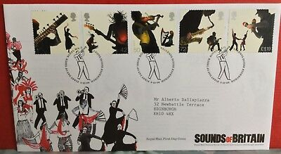 GB 2006 sounds of Britain fdc