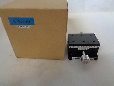 New Misumi Xwg60 Linear Stage Positioner Made In Japan