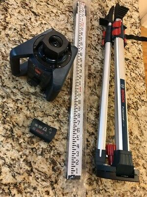 Bosch Professional GRL250HV Survey Self-Leveling Rotary Laser w LR30 & BT152 NEW