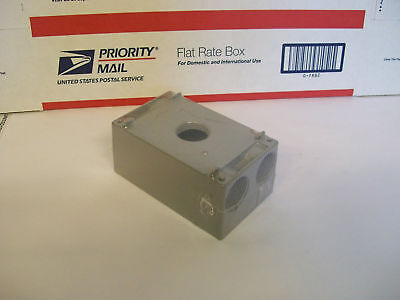 Crouse-Hinds TP7082 Weatherproof Outlet box TP