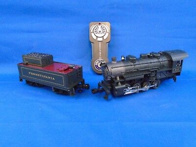 Pennsylvania Flyer Train O-Gauge Locomotive, Remote &  Tendor 6-30233 Lionchief