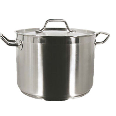 Thunder Group SLSPS008 8 Qt Stainless Steel Induction Stock Pot