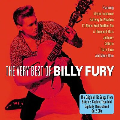 Billy Fury - The Very Best Of - Greatest Hits 2CD NEW/SEALED