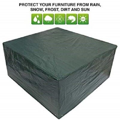 Garden Outdoor Square Table Covers, Waterproof & Washable, Durable POLYETHYLENE
