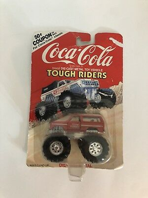 Coca-Cola Hartoy Tough Riders 1980 K5 Blazer