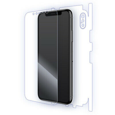 iPhone X Skins: Invisible Scratch Protection Shield by BSE