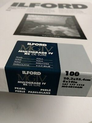 ILFORD MULTIGRADE IV RC DeLuxe - B&W negative paper resin coated PEARL variabl…
