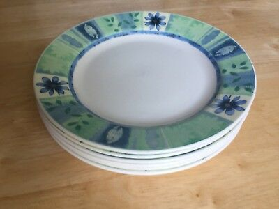 Six Churchill Jeff Banks Ports Of Call Sussex Dinner Plates