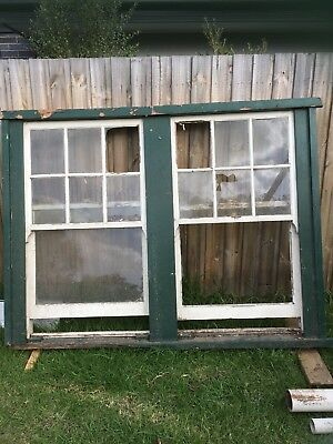 Colonial Style Timber Double Double Hung Sash Window 2110 W X 1620 H X 160 D