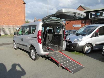 Wheelchair car Fiat Doblo accessible, disabled access, mobility, scooter, WAV
