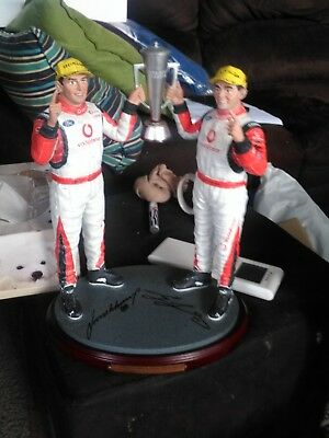 RARE AS FORD LOVERS  lowndes& whincup 2007 bathurst winners comM statue B/OFFER