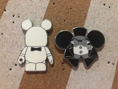 disney pins trading Mickey Mouse Groom themed lot of 2 Pins