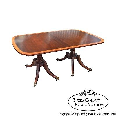 Duncan Phyfe 1940s Mahogany End Occasional Table Nice Original