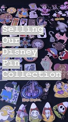 disney pins trading random lot of 10 pins no repeats no doubles