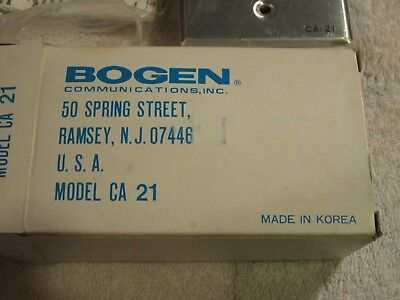 BOGEN CA-21 PUSH BUTTON FOR INTERCOM ORIGINAL PACKAGE New from old stock