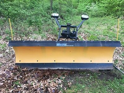 Meyers 7 1/2 Ft Poly Power Angle Snow Plow