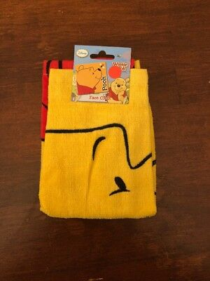 Licensed Disney Winnie The Pooh Face Cloth