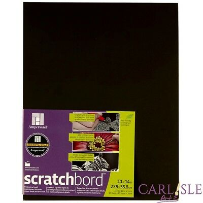 Ampersand Scratchboard Choose Your Size By One