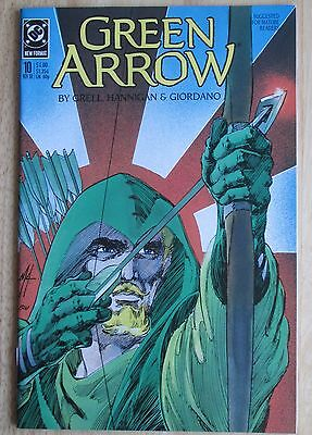 "DC Comics, ""Green Arrow"" 1988  # 10, Great Condition"