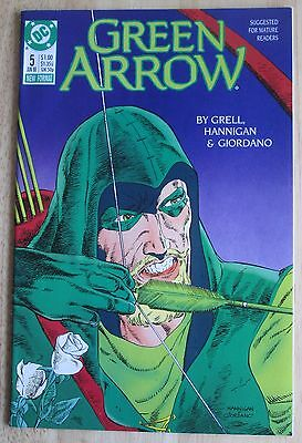 "DC Comics, ""Green Arrow"" 1988  # 5 , Great Condition"