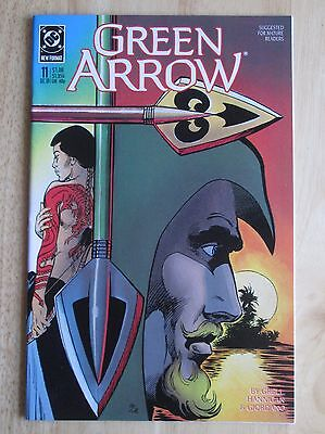 "DC Comics, ""Green Arrow"" 1988  # 11, Great Condition"