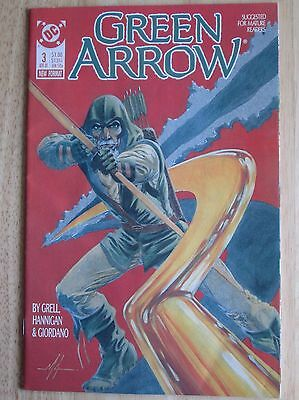 "DC Comics, ""Green Arrow"" 1988  # 3 , Great Condition"