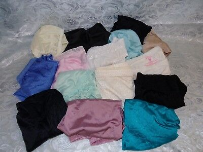 Lot of 15   Nylon Panties assorted All size 7