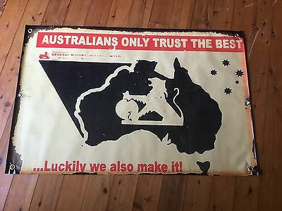 Monaro torana gmh Tough vinyl banner print man cave flag sandman Holden poolroom