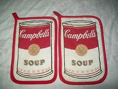 Vintage Campbell's Soup Pot Holders
