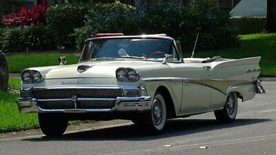 1958 Ford Fairlane SEE FULL ITEM DESCRIPTION BELOW 1958 FORD fairlane 500 CONVERTIBLE READY FOR A CRUISE NIGHT OR WEEK END DRIVE