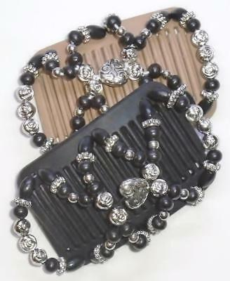 """Double Magic MINI Hair Combs, Angel Wings Clips 3x2.5"""", Hearts,Best Quality MC11"""