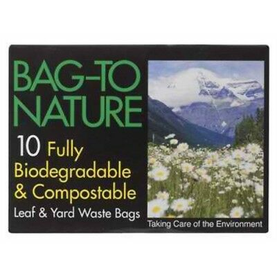 Bag-To-Nature Compostable Lawn And Yard Bag 10CT