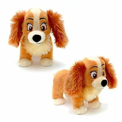 New Official Disney Lady & The Tramp 20cm Lady Soft Plush Toy
