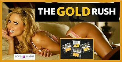 THE GOLD RUSH / Male Enhancement Sex Pills / 3 Golden Nuggets  / LOVE 2NIGHT