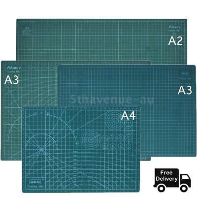 A2 A3 A4 PVC Self Healing Cutting Mat Craft Quilting Grid Lines Print Board T6X4