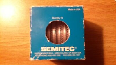 "New box of 10 Semitec Wafer Dicing Wheel Blade.S1025 2.18"" OD 3/4"" ID"