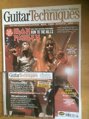 Guitar Techniques magazine and CD, July 2003