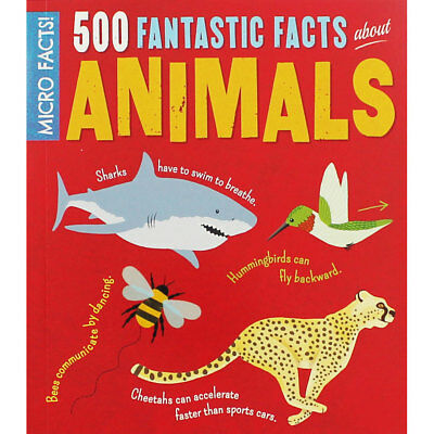 500 Fantastic Facts about Animals (Paperback), Children's Books, Brand New