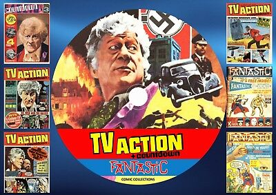 TV Action + Countdown + Fantastic UK Comics On DVD Rom