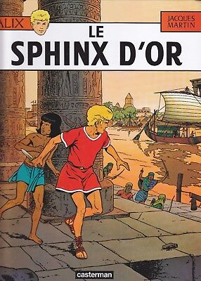 Alix - Le Sphinx d'or  - BD à couverture rigide