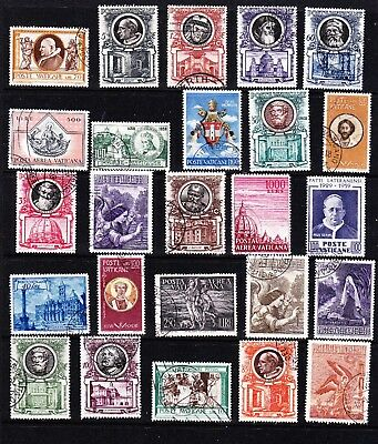 Vatican stamps - 25 Used