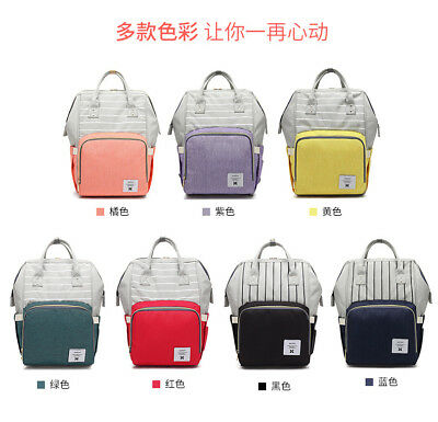 Baby Bag Multifunction Mummy Mother Diaper Nappy Newborn Baby Backpack Bag