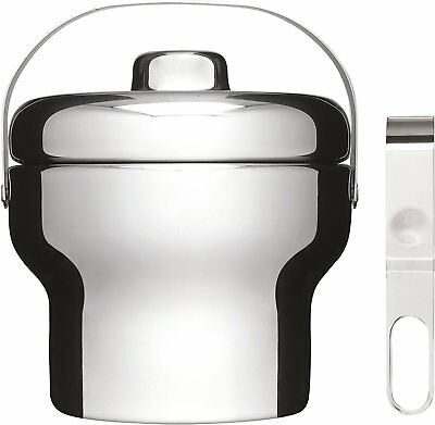 Sagaform Stainless Steel Ice Bucket With Tongs