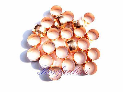 Caravan Hard Round Compression Air Oil Lpg Fitting Gas Copper Band Pipe Olives