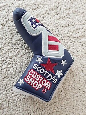 Scotty Cameron - Custom Shop - Jyd Junk Yard Dog Cover - Brand New