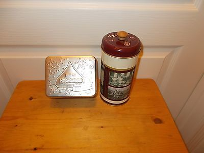Lot of 2 HERSHEY'S Candy Tins
