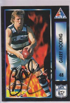 AFLPA 1994 Garry Hocking Signed Geelong Cats Card