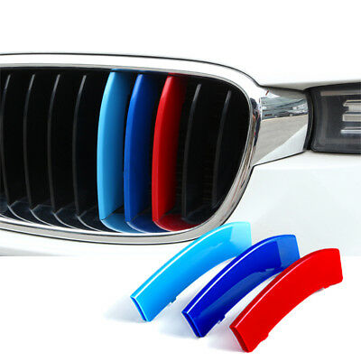 Car Grille Insert Trims Stickers for BMW 3 series E46 98-01 Plastic Strip Cover
