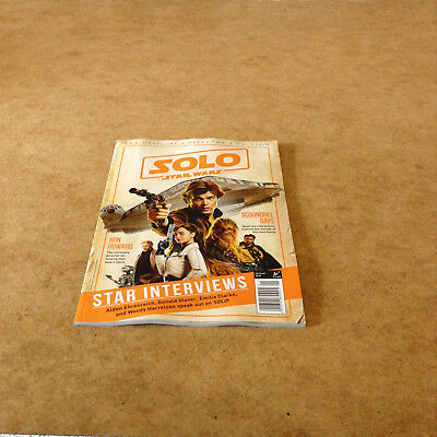 Solo A Star Wars Story Official Collectors Edition Star Interviews Movie News