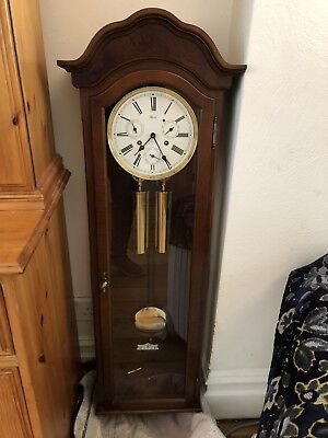 Vintage Hermle  Wall clock &  rare day date month Dials